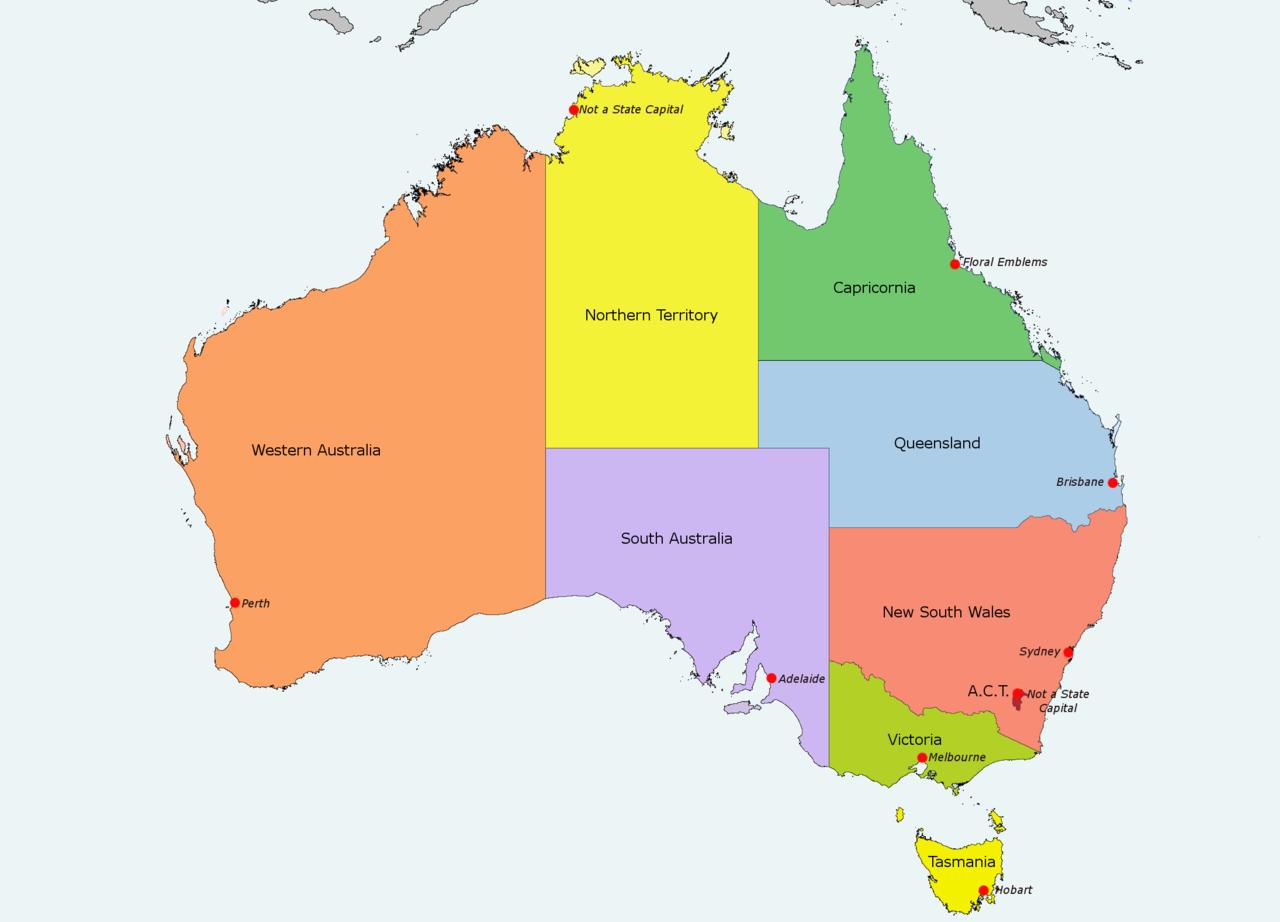 The Family History Guide – Explore Australia Map
